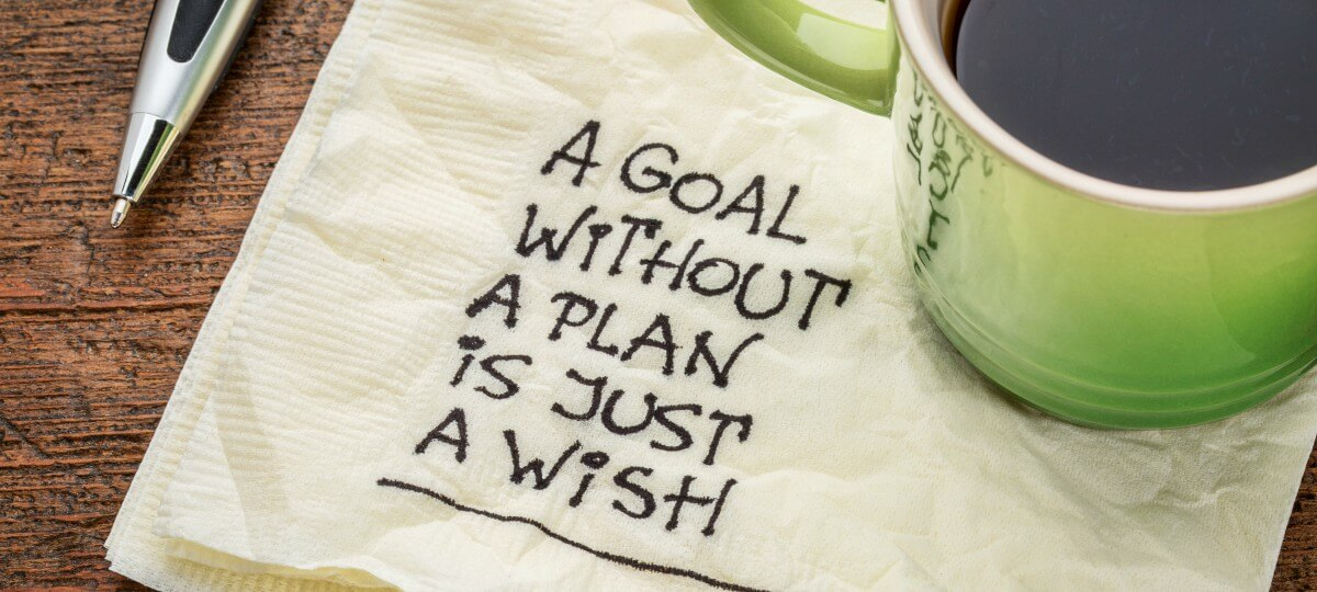 A Goal without a Plan is just a Wish - Get your FREE Blogging Goals Planner