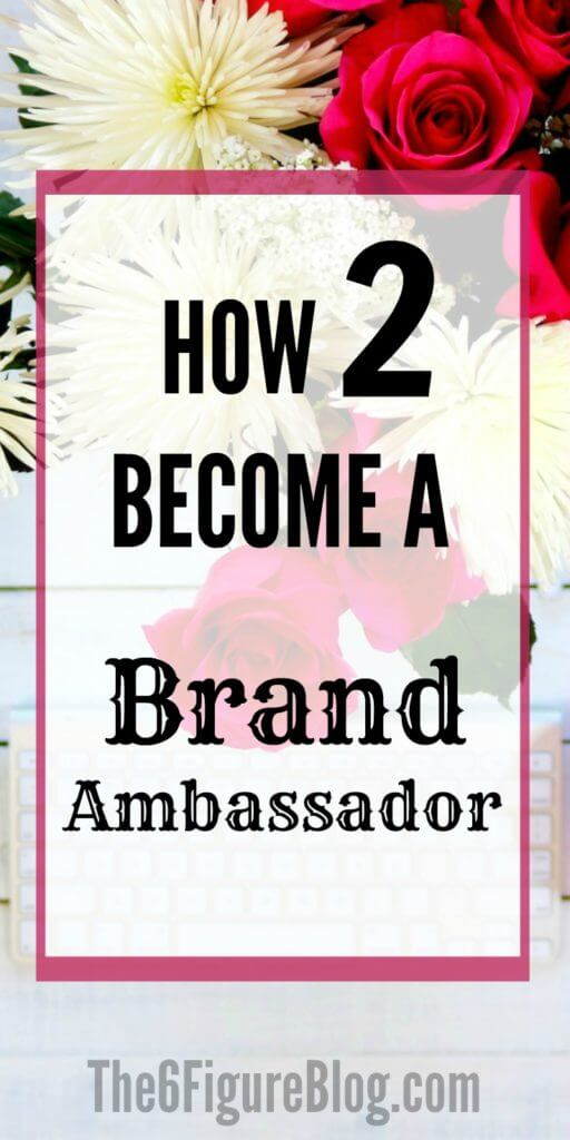 How to Become a Social Media Brand Ambassador The6FigureBlog