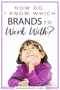 How do I Know Which Brands to Work With - Tips for Influencers