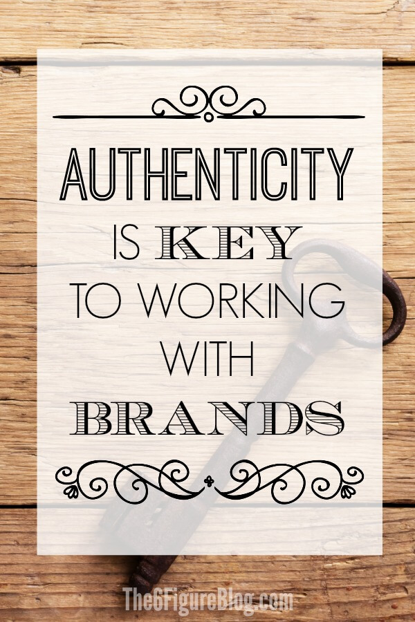 Want to Pitch Brands for Sponsored Content? Authenticity is KEY to Working with Brands