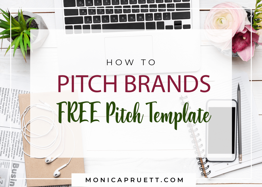 FREE Brand Pitch Template - How to Pitch Brands